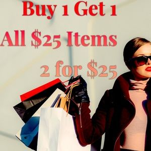 Jewelry - Buy 1 Get 1 Free SALE | All $25 Items | FLASH SALE